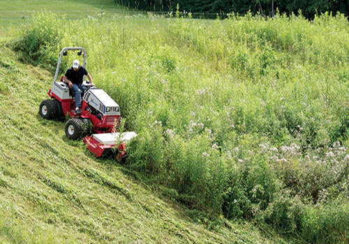 Brush Mowing